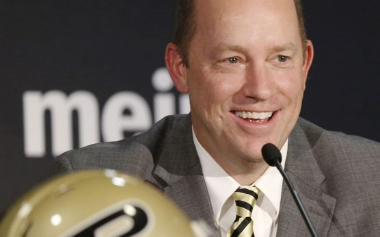 jeff brohm-contract extension-purdue football-2019