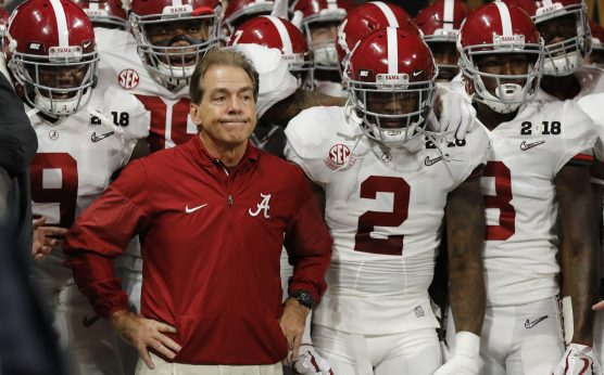 nick saban hip-nick saban surgery-2019-alabama football