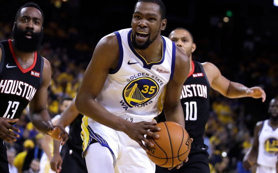 kevin durant-golden state warriors-injury update-calf strain-western conference finals-betting odds