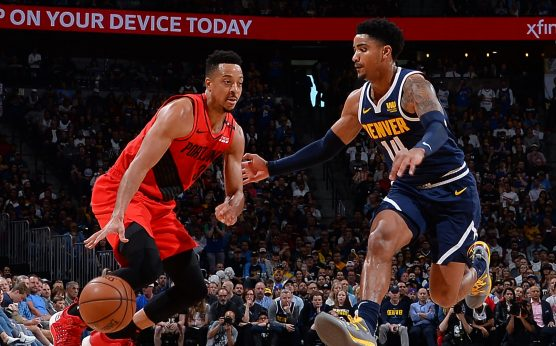 C.J. McCollum-Portland Trail Blazers-Golden State Warriors-Western Conference finals-Kevin Durant-Damian Lillard-Game 1-Oracle Arena-