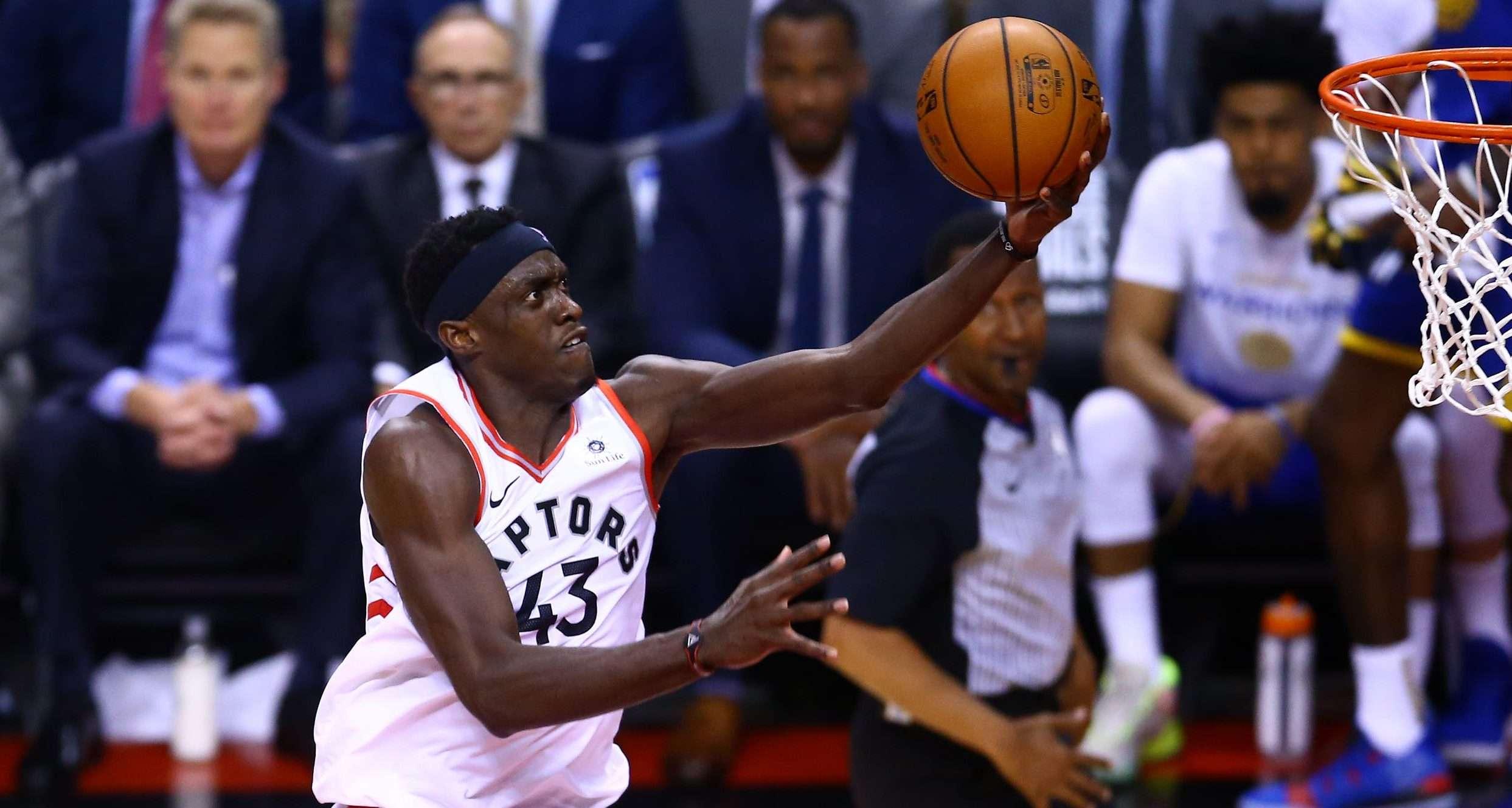 Pascal Siakam-Toronto Raptors-NBA Finals-Golden State Warriors-Steph Curry-