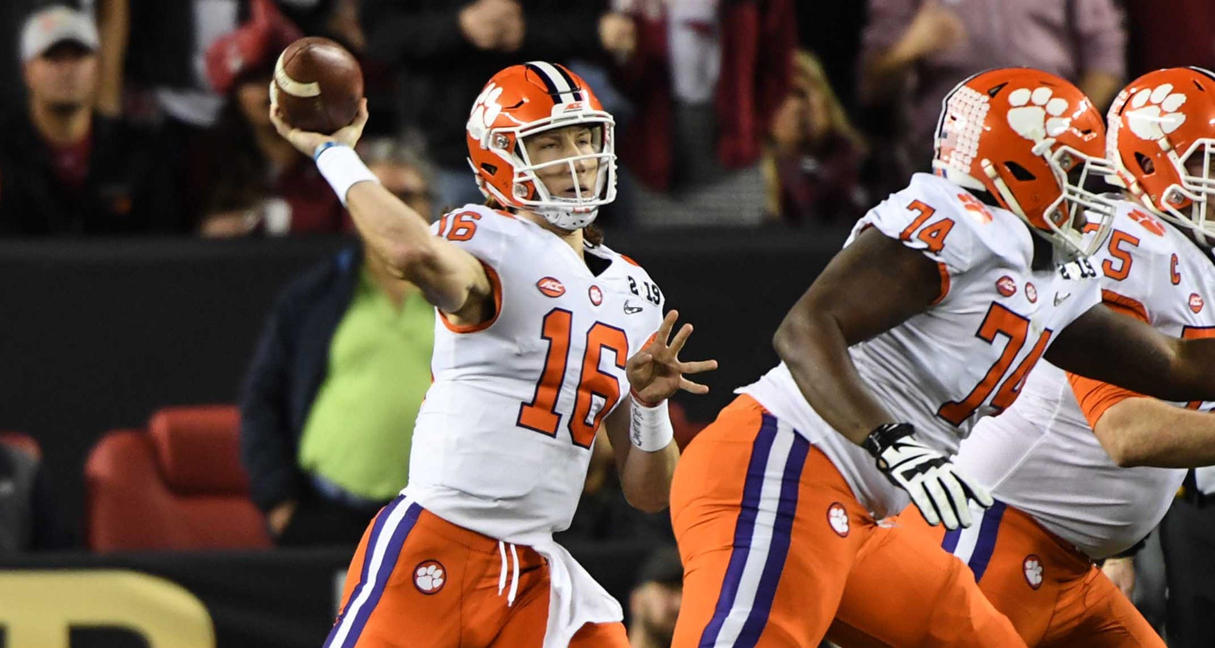 Golden Nugget-Games of the Year lines-Trevor Lawrence-Clemson Tigers-Alabama Crimson Tide-