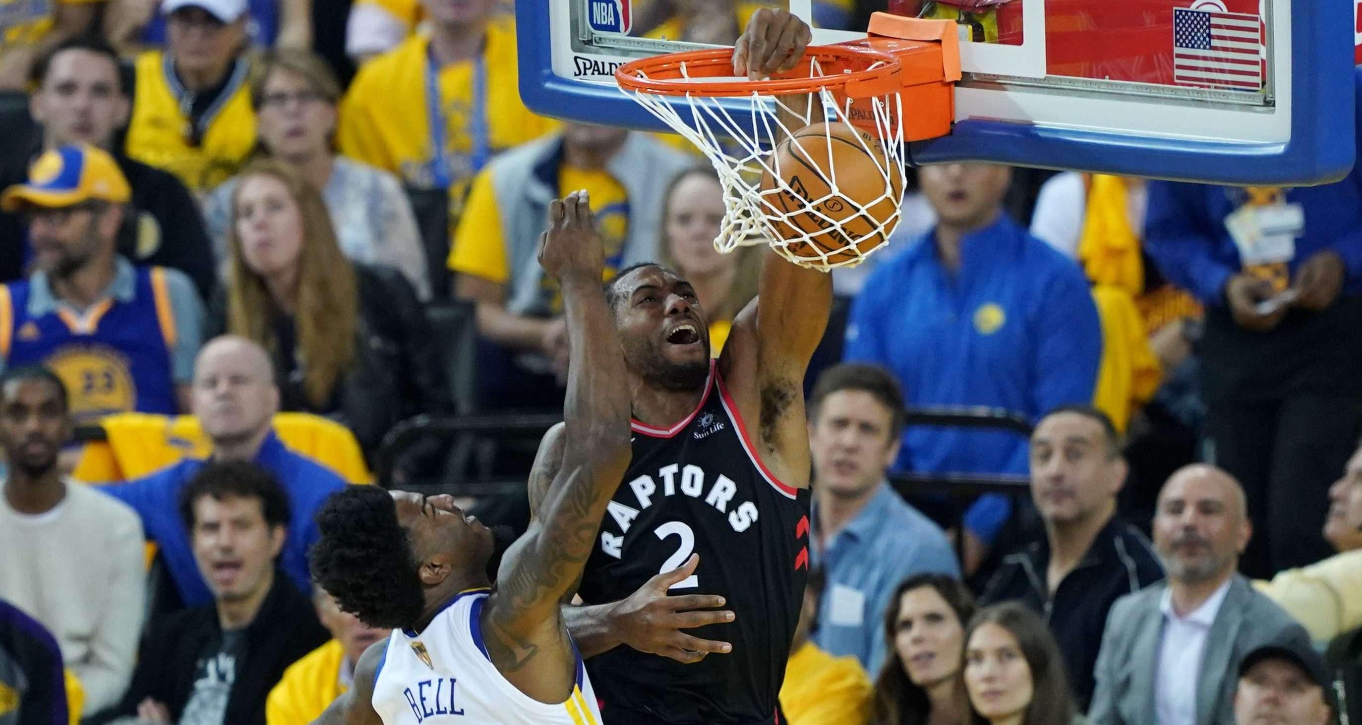Kawhi Leonard-NBA Finals-Toronto Raptors-Golden State Warriors-Kyle Lowry-Steph Curry-Game 3-
