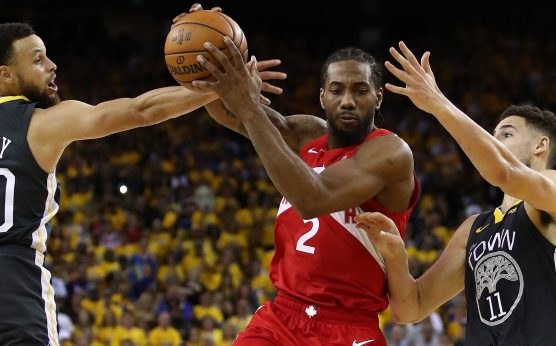 Kawhi Leonard-Toronto Raptors-2019 NBA Finals-Golden State Warriors-Game 4-Oracle Arena-