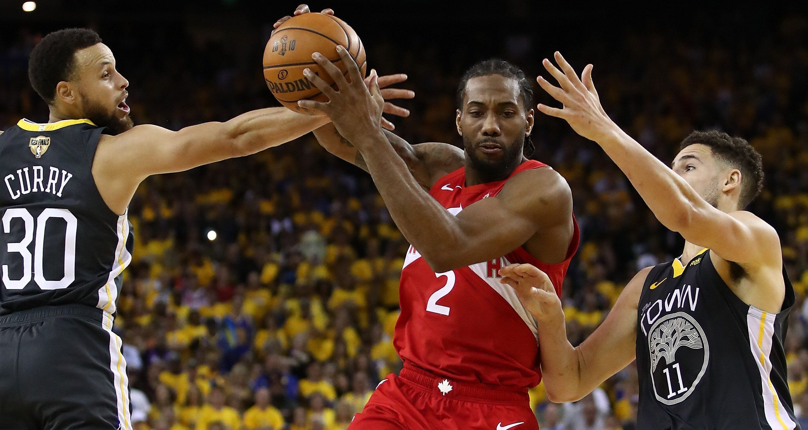 Kawhi Leonard-Toronto Raptors-2019 NBA Finals-Golden State Warriors-Game 4-Oracle Arena-