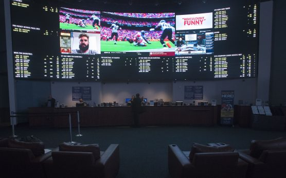 New Jersey sports books-New Jersey's sports handle-New Jersey tops Nevada's sports handle in May of 2019-Atlantic City-sports gambling