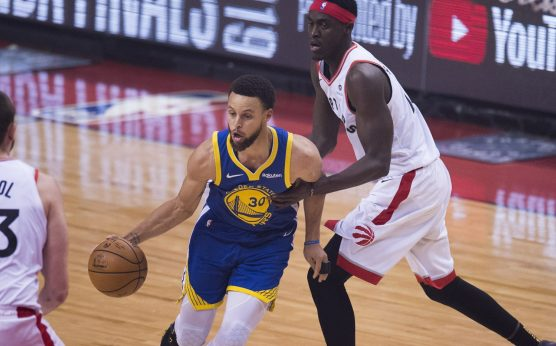 Golden State Warriors-Splash Brothers-Klay Thompson-Steph Curry-Kevin Durant-Toronto Raptors-2019 NBA Finals-Game 5-