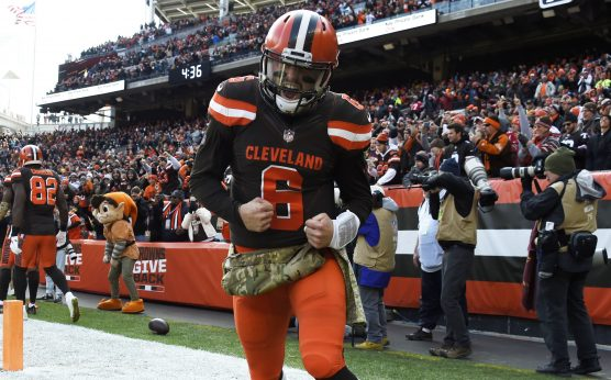Cleveland Browns-NFL rebuilding projects-NFL study on teams finishing 2-14 or worse-Baker Mayfield-