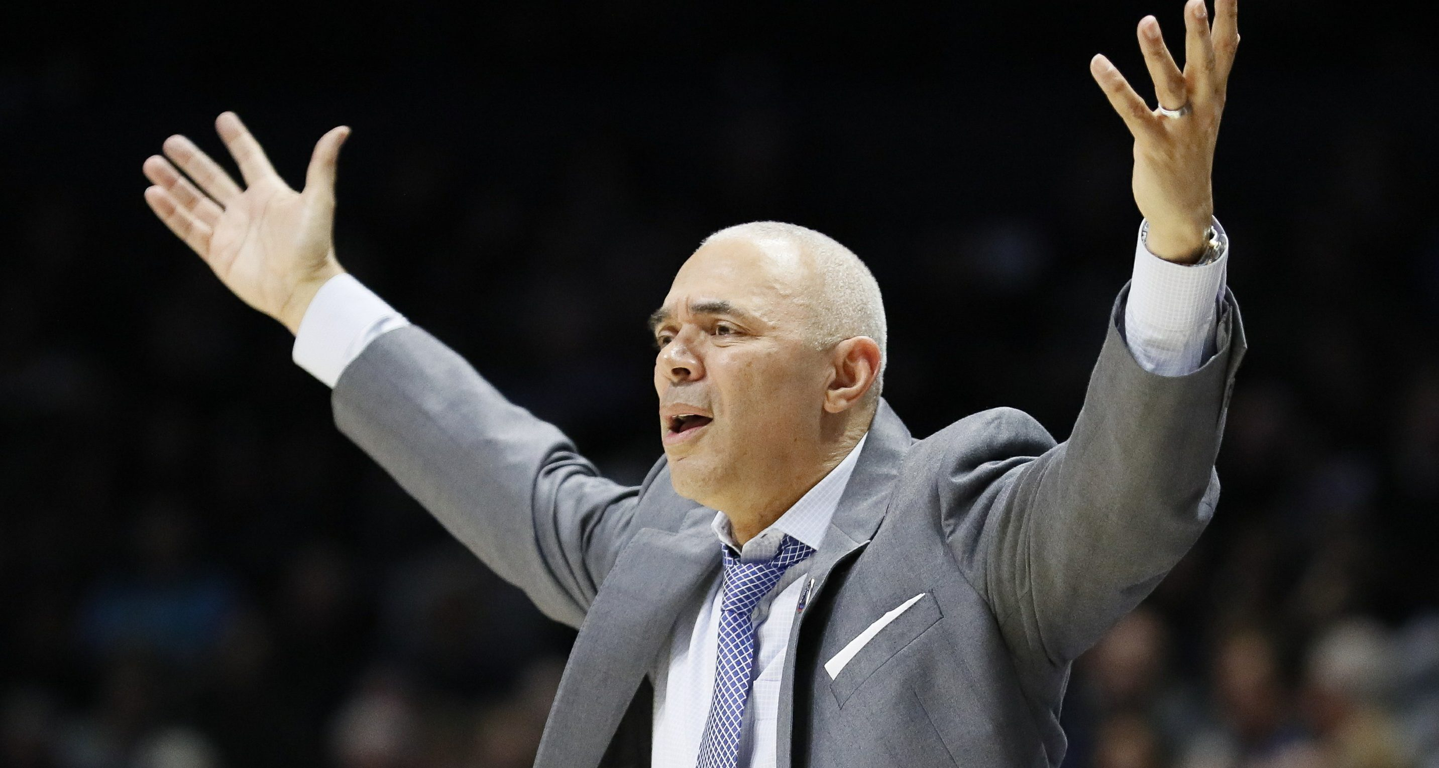 Dave Leitao-DePaul men's basketball-Leitao suspended 3 games-DePaul given 3 years of probation-