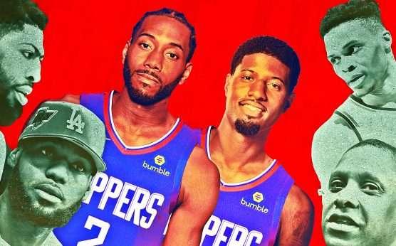 Kawhi Leonard-Paul George-L.A. Clippers-Brooklyn Nets-Kevin Durant-Kyrie Irving-2019 NBA off-season-