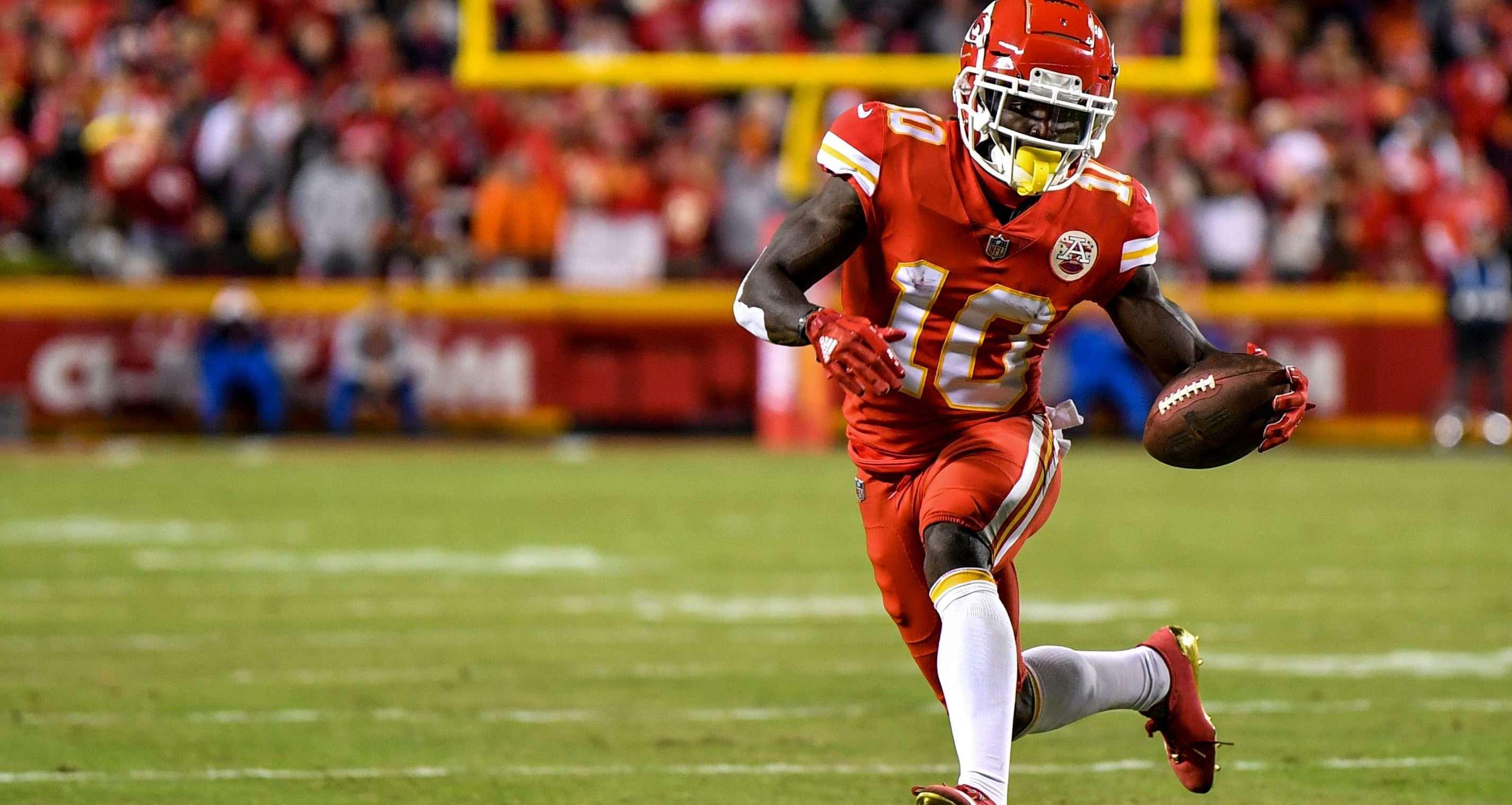 Tyreek Hill-Kansas City Chiefs-NFL won't suspend Hill-Patrick Mahomes-