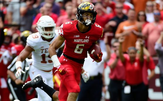 College Football Injuries-Maryland WR Jeshaun Jones-Toledo center Bryce Harris-Georgia LB Brenton Cox-Eli Stove-Will Hastings-