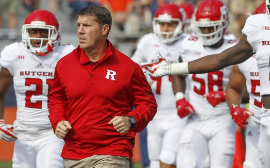 BetOnline props-Rutgers' HC Chris Ash favored to be fired first-USC's Clay Helton-CFB Coaches on the Hot Seat in 2019-Lovie Smith-Gus Malzahn-