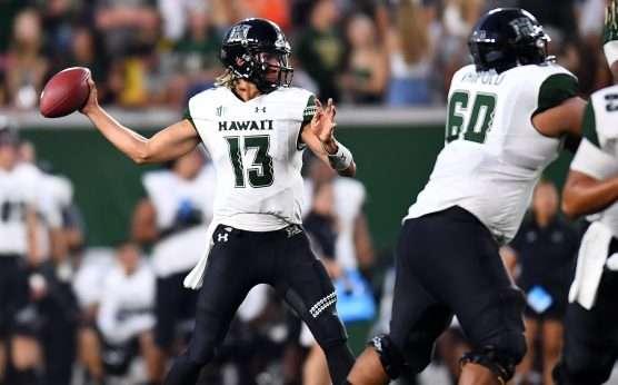Hawaii Rainbow Warriors-Arizona Wildcats-Week Zero-Cole McDonald-Khalil Tate-Kevin Sumlin-Nick Rolovich-Arizona at Hawaii-