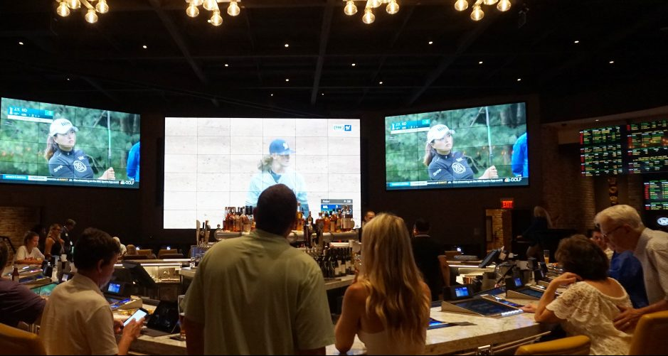 Beau Rivage Casino & Resort-Beau Rivage Race & Sportsbook Manager Will Hall-The TAP in Biloxi-New Orleans Saints-