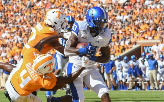 Biggest Upsets in College Football History-Ga. St. stuns Tennessee-Tennessee Volunteers-Appalachian State wins at The Big House-Georgia State Panthers-BYU at Tennessee-