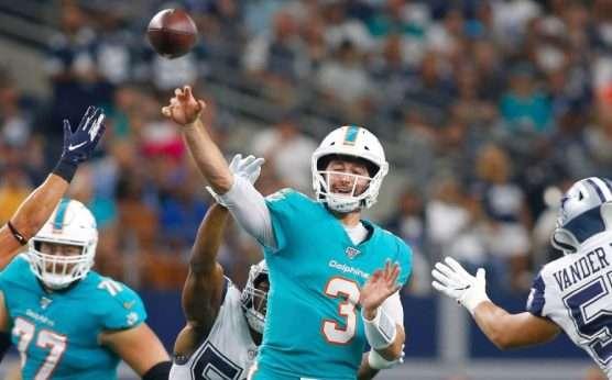 Josh Rosen-Julian Edlow-Miami Dolphins-New England Patriots-Julian Edlow's Week 4 NFL picks-Dolphins team total 'under'
