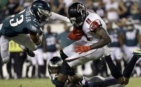Philadelphia Eagles-Atlanta Falcons-Julio Jones-Philadelphia at Atlanta betting preview-Matt Ryan-Carson Wentz-