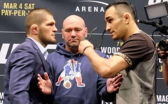 Khabib Nurmagomedov-Tony Ferguson-BetOnline odds for Khabib vs. Ferguson-Conor McGregor-UFC odds-UFC 242