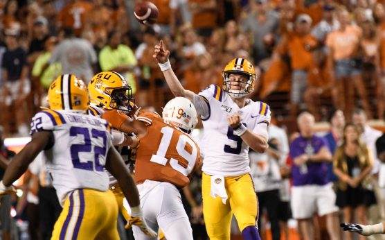 Circa Sports updates odds to win CFB conferences-Circa Sports-odds to win college football conferences-Joe Burrow-LSU Tigers-odds to win the SEC-