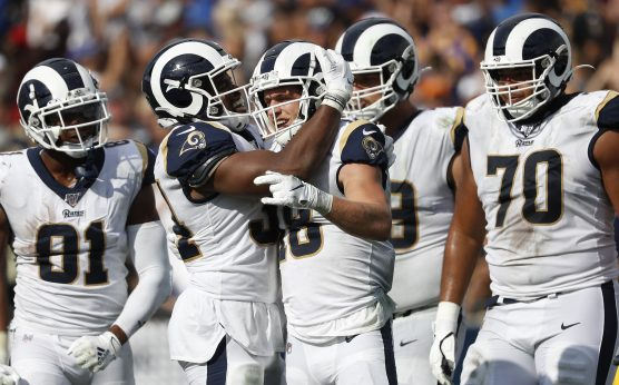 Sunday Night Football-Rams favored by 3.5 points at Cleveland-Cleveland Browns-L.A. Rams-Baker Mayfield-Nick Chubb-Blake Von Hagen-SNF Betting Preview-