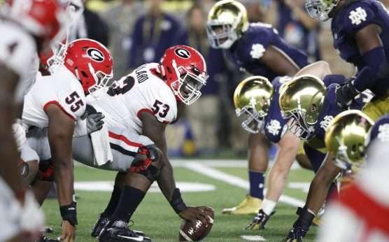 Julian Edlow-college football picks-Georgia Bulldogs vs. Notre Dame-Utah at USC-Zack Moss-
