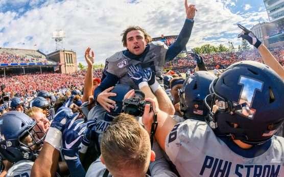 Illinois stuns Wisconsin, 24-23-Wisconsin Badgers-Jonathan Taylor-Lovie Smith-Brandon Peters-Illinois football-Biggest 2019 college football upsets-