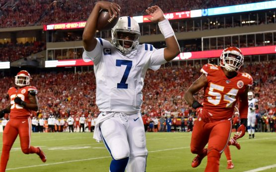 DraftKings-Indianapolis Colts-Kansas City Chiefs-Jacoby Brissett-NFL money-line parlays-