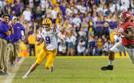 Westgate Games of the Year-Joe Burrow-LSU Tigers-Alabama Crimson Tide-2019 Iron Bowl spread-Oklahoma-Texas line-2019 Updated Games of the Year lines-