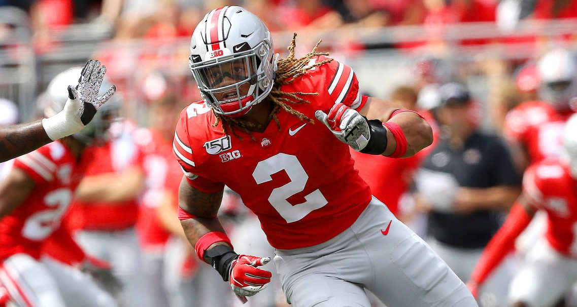 Chase Young-Ohio State Buckeyes-Chase Young out vs. Maryland-Maryland Terrapins-Chase Young NCAA issue-