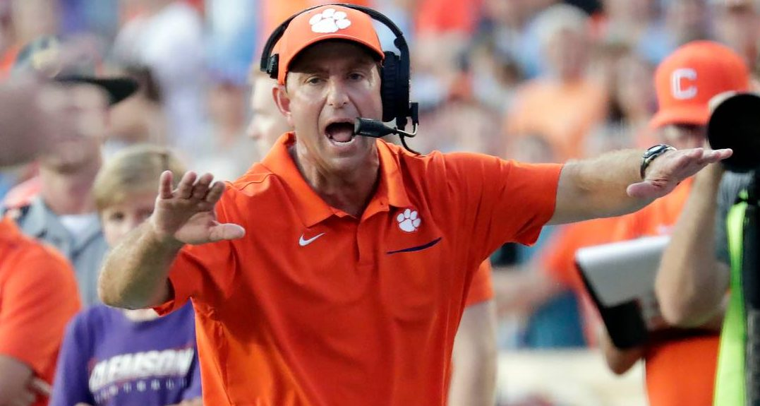 Christopher Smith-Christopher Smith's Week 14 Power Rankings-college football power rankings-Dabo Swinney-Ohio State Buckeyes-