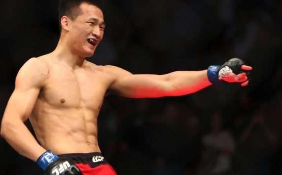 UFC Busan-The Korean Zombie-Frankie Edgar-Brian Ortega-UFC 245-Chan Sung Jung-