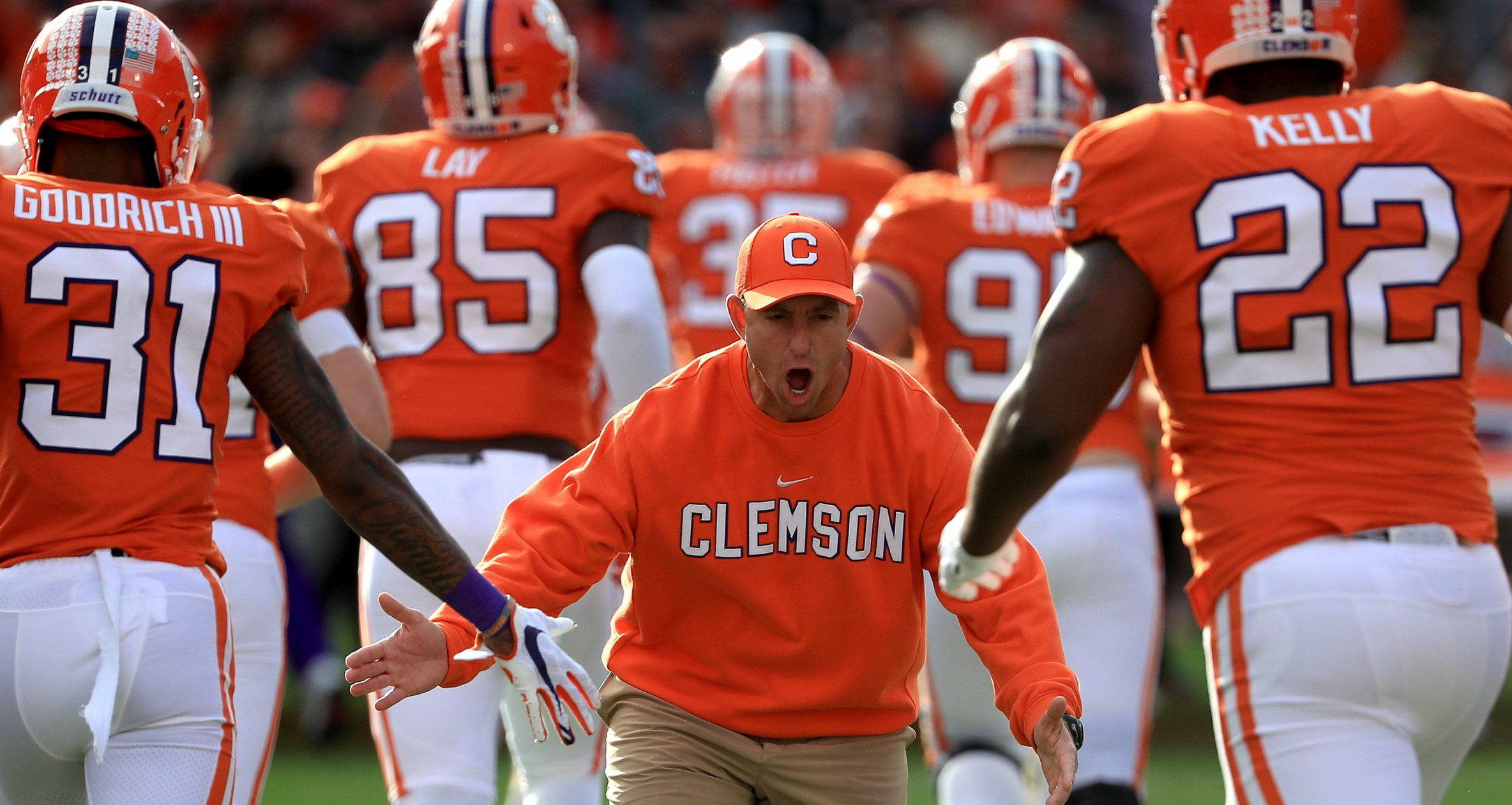 Dabo Swinney-Christopher Smith-@CFBLocksmith-Christopher Smith's Bowl Season Power Rankings-Clemson Tigers football-