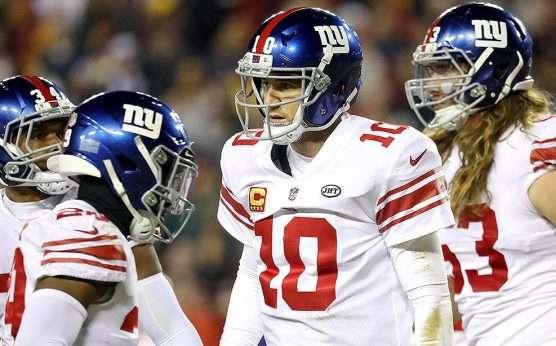 Eli Manning-Daniel Jones-New York Giants-Saquon Barkley-Kaden Smith-