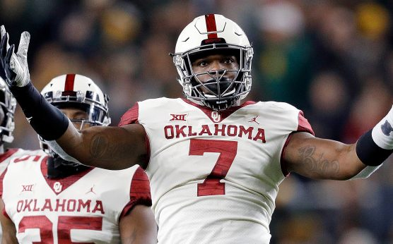 Ronnie Perkins-Rhamondre Stevenson-Trejan Bridges-Oklahoma Sooners-odds to win CFP-3 Sooners suspended vs. LSU-2019 Peach Bowl-Lincoln Riley-