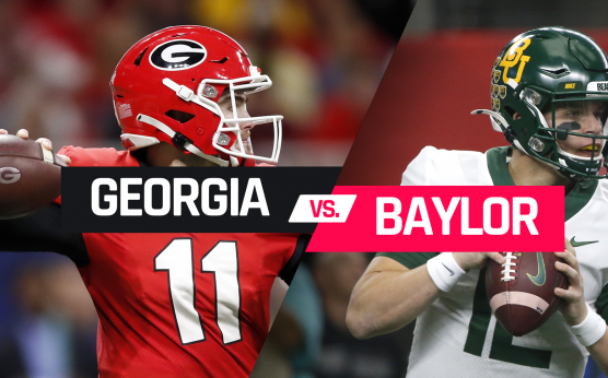 Sugar Bowl-Baylor Bears-Charlie Brewer-Matt Rhule-Georgia Bulldogs-Jake Fromm-D'Andre Swift-Lawrence Cager-George Pickens-