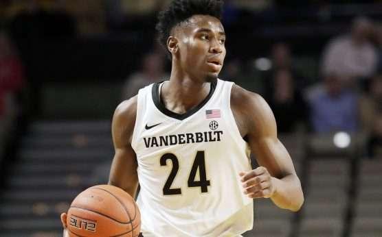 Aaron Nesmith-Vanderbilt Commodores men's basketball-Jerry Stackhouse-Vandy's Nesmith out indefinitely-