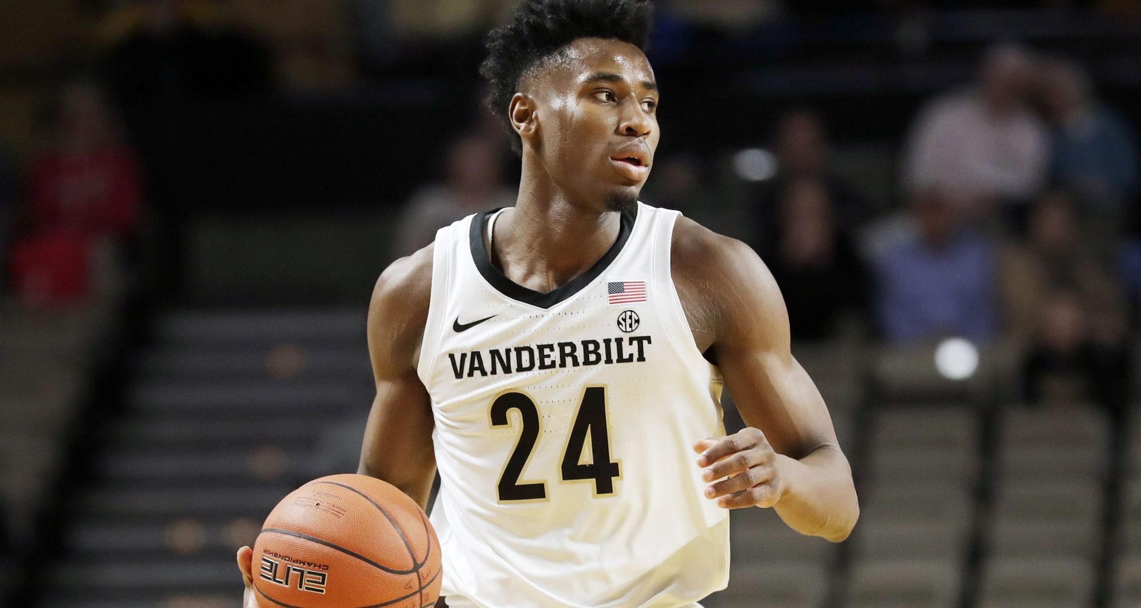 Aaron Nesmith-Vanderbilt Commodores men's basketball-Jerry Stackhouse-Vandy's Nesmith out indefinitely-
