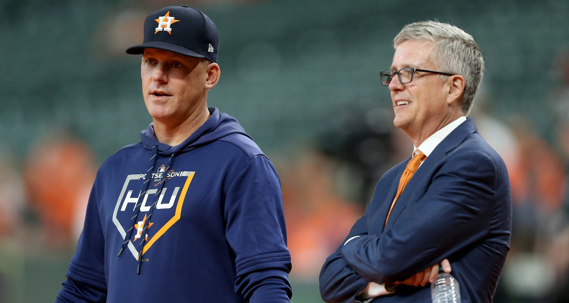 Houston Astros-MLB punishes Astros-A.J. Hinch-Jeff Luhnow-