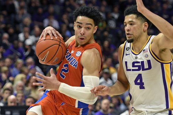 LSU at Florida-Florida Gators-LSU Tigers-Skylar Mays-Andrew Nembhard-Will Wade-Mike White-Kerry Blackshear-Javonte Smart-Keyontae Johnson-