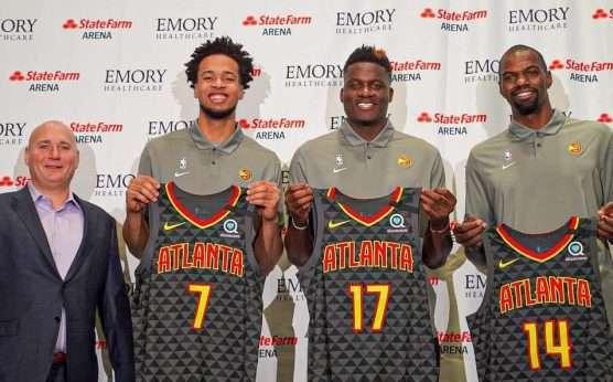 Clint Capela-Atlanta Hawks-Trae Young-Lloyd Pierce-Houston Rockets-John Collins-