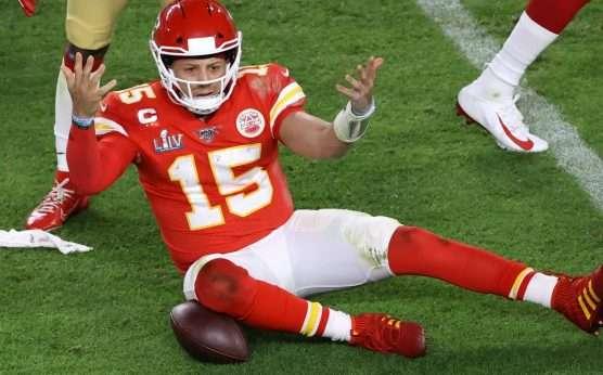 Super Bowl LIV prop bets-Patrick Mahomes-Bad Beat on Mahomes rushing yards prop-Kansas City Chiefs-