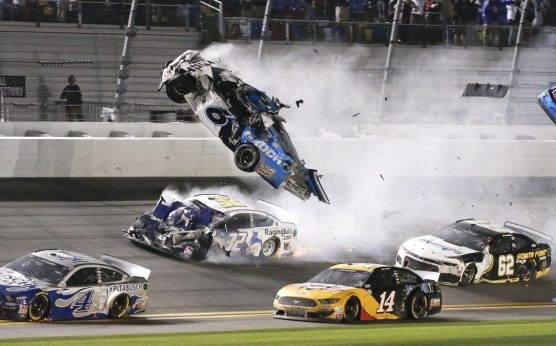 Ryan Newman-2020 Daytona 500-Denny Hamlin-Dale Earnhardt-Ryan Newman crash at Daytona-