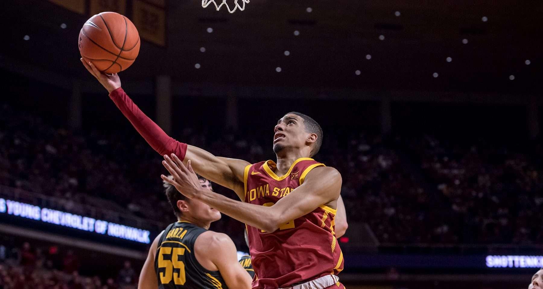 Tyrese Haliburton-Iowa State Cyclones-Steve Prohm-Tyrese Haliburton out for the season-Tyrese Haliburton projected lottery pick-2020 NBA Draft-