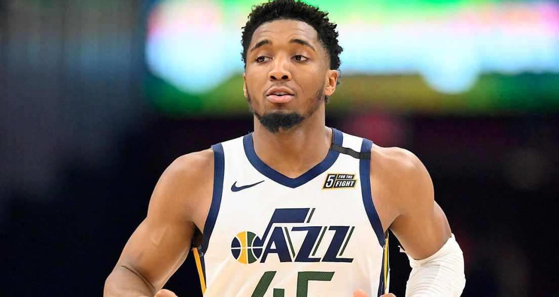 Donovan Mitchell-Robin Roberts-Utah Jazz-Oklahoma City Thunder-Good Morning America-