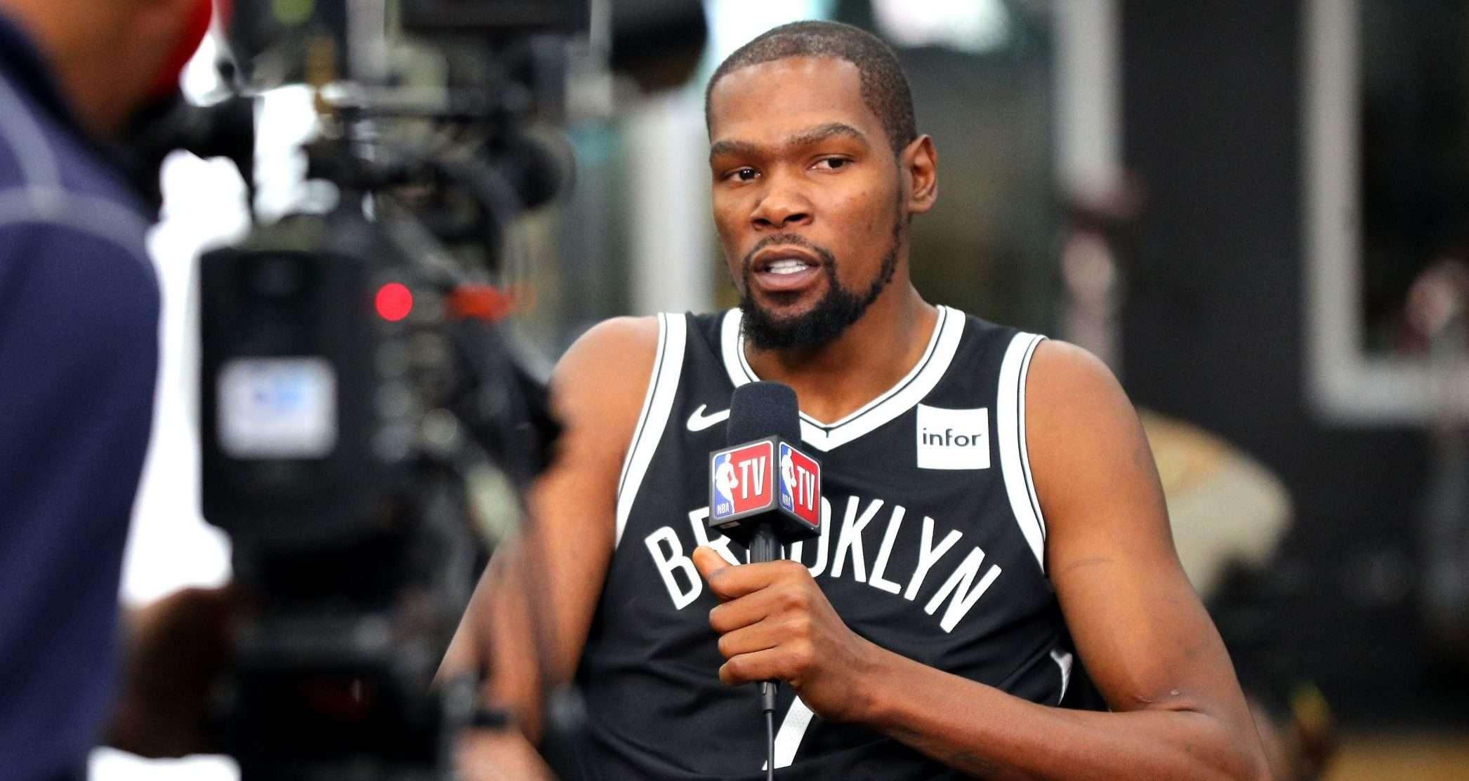 Kevin Durant-Brooklyn Nets-Kevin Durant has the coronavirus-