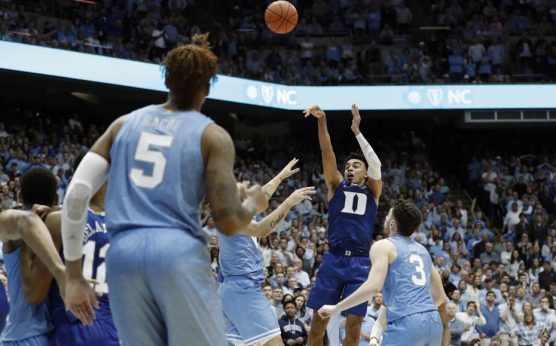 Tre Jones-Duke Blue Devils-North Carolina Tar Heels-UNC at Duke-Roy Williams-Mike Krzyzewski-Vernon Carey-Cole Anthony-