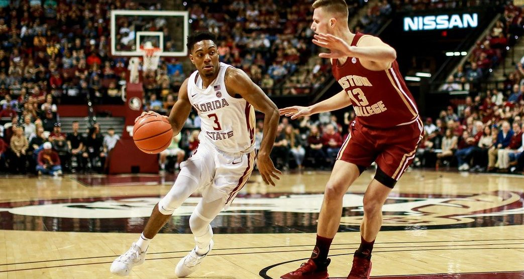 Trent Forrest-Florida State Seminoles-odds to win the ACC Tournament-conference tournament odds-college basketball futures-Dayton Flyers-