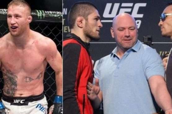 UFC 249-Khabib Nurmagomedov-Tony Ferguson-Justin Gaethje-Jorge Masvidal-Dana White-Cowboy Cerrone-odds for Ferguson-Gaethje-